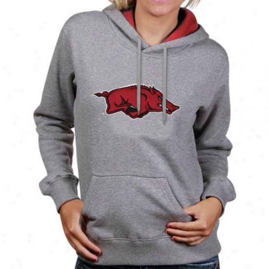 Arkansas Razorbacks LadiesA sh Game Day Hoody Sweatshirt