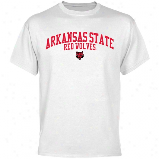 Arkansas State Red Wolves Team Arcu T-shirt - White
