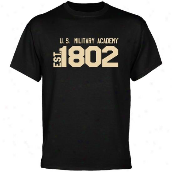 Host Black Knights Black Est. Date T-shirt