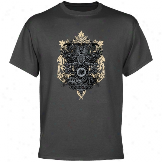Army Black Knights Charcoal Ward off Of Adms T-shirt
