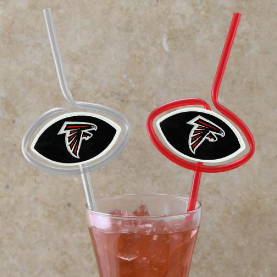 Atlanta Falcons Team Sips Straws