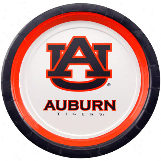 Aubutn Tigers 10-pack Dinner Plates