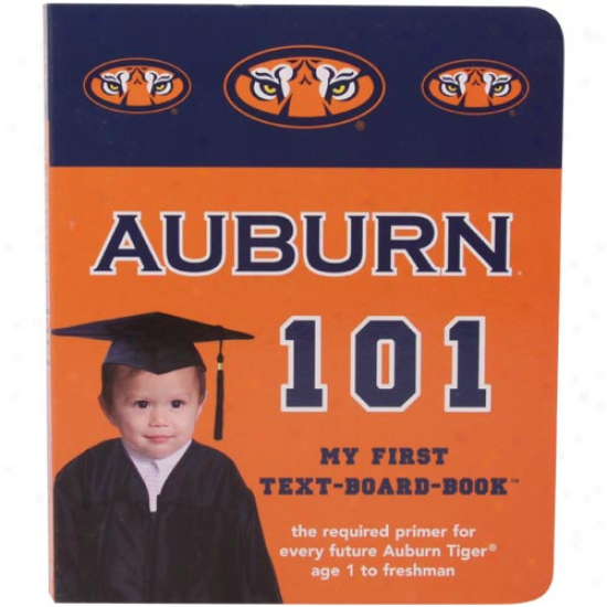 Auburn Tigers 101 My First Board Book