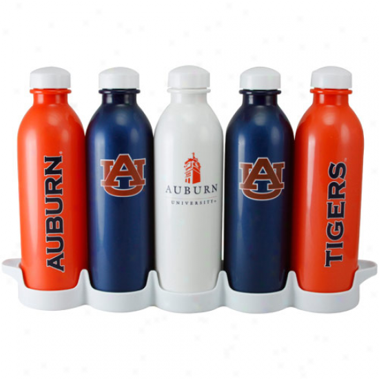 Auburn Tigers 5-pack 16oz. Waterweek Garb & Go Bottle Offer for sale