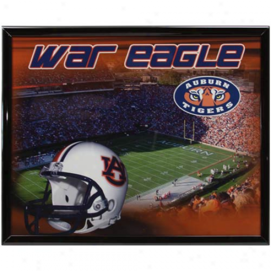 Auburn Tigers 8'' X 10'' Stadium Framed Photograph