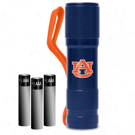 Auburn Tigers Led Pocket Flashlight