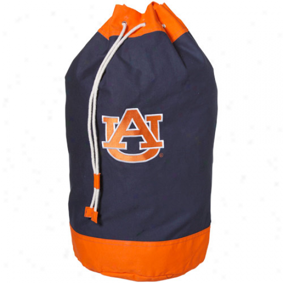 Auburn Tigers Navy Blue Laundry Bag