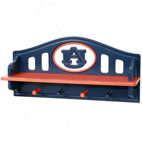 Auburn Tigers Navy Blue Shoal With Pegs