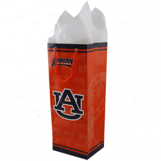 Auburn Tigers Orange Bottle Talent Bag