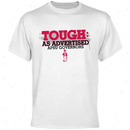 Austin Peay State Governors White As Advertised T-shirt