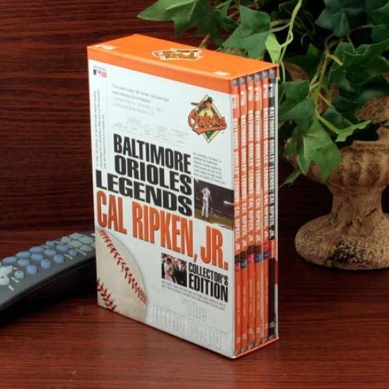 Baltimore Orioles Cal Ripken, Jr. Legends 6-disc Dvd Set