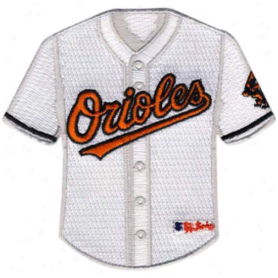 Baltimore Orioles Home Jersey Collectible Patch