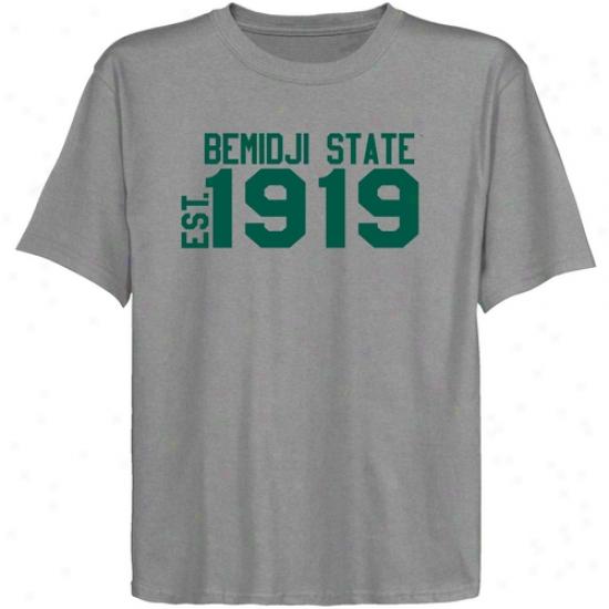 Bemidji State Beavers Youth Ash Est. Date T-shirt