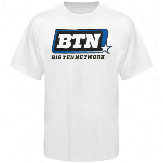 Big Ten Conference Youth Big Ten Network Logo T-shirt - Pure