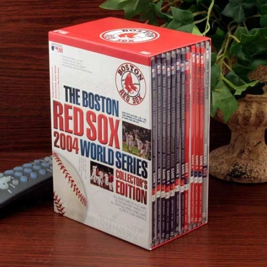 Boston Red Sox 2004 World Series Collector's Edition 12-disc Dvd Set