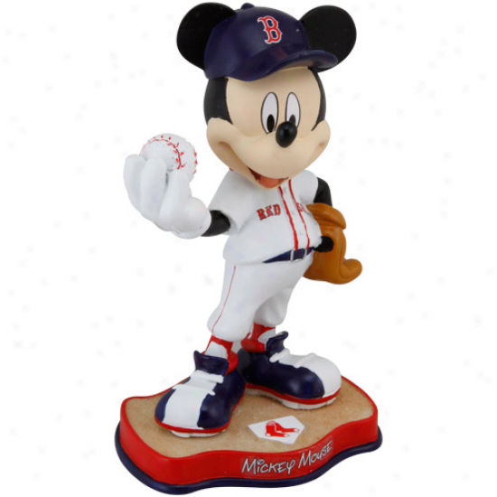 Boston Red Sox 8'' Mickey Mouse Figurine
