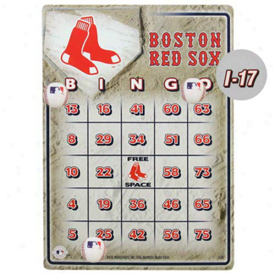 Boston Red Sox Bongo Game