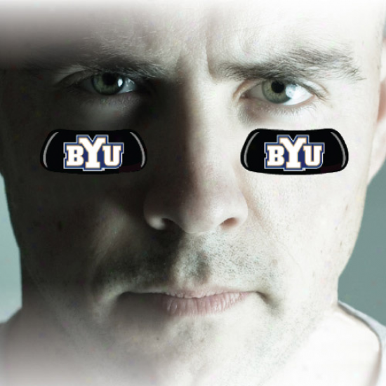 Brigham Young Cougars Authhentic Eyeblack Strips