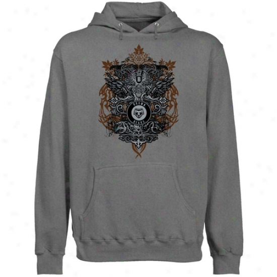 Brown Bears Gunmetal Shield Of Arms Lightweight Pullover Hoody