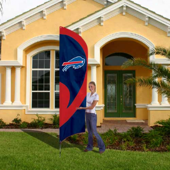 Buffalo Bills 8.5' Tall Applique Team Flag