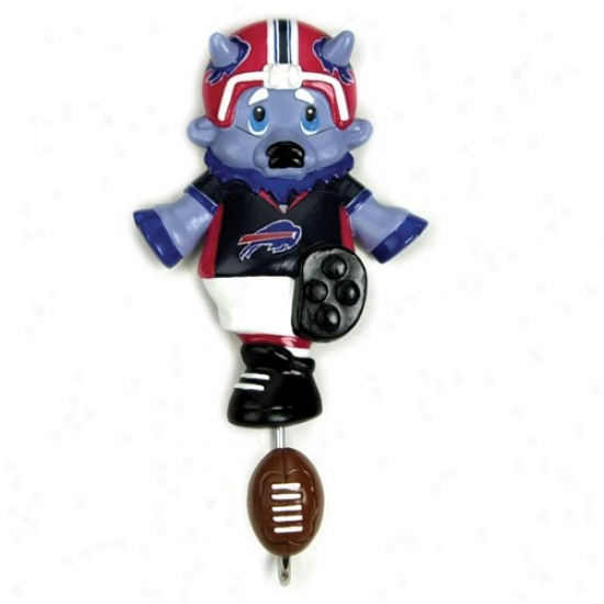 Buffalo Bilos Mascot Wall Hook