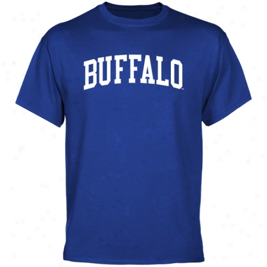 Buffalo Bulls Basic Arch T-shirt - Royal Blue