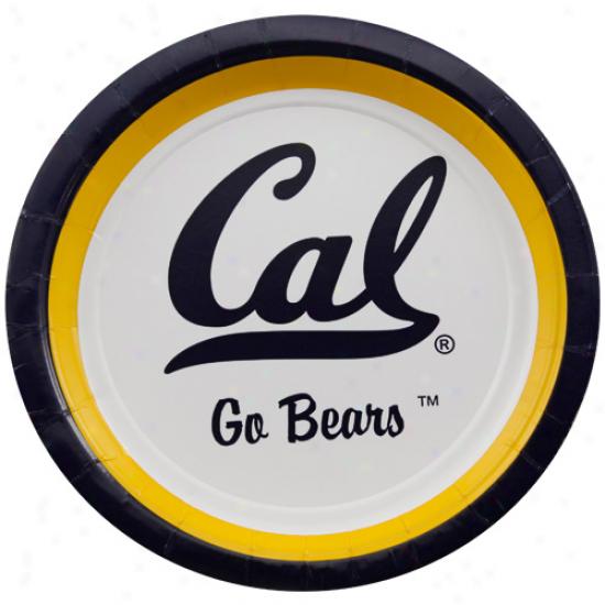 Cal Bears 12-pack Dessert Plates