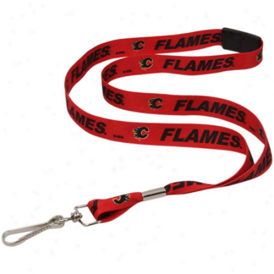 Calgary Flames Nhl Event Lanyard