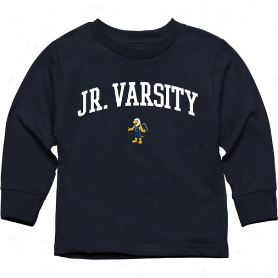 Canisius College Golden Griffins Toddler Jr. Varsity Long Sleeve T-shirt - Navy Blus
