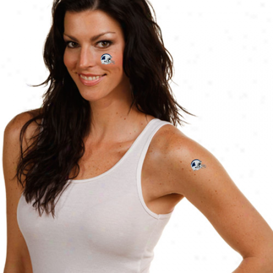 Carolina Panthers 4-pack Temporary Tattoos