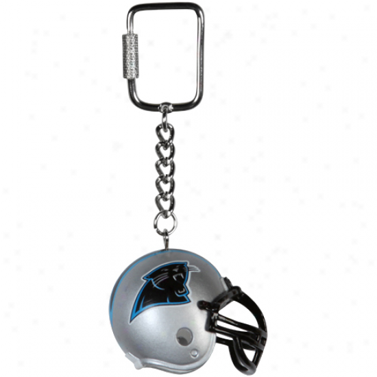 Carolina Panthers Lil' Brat Football Helmet Keychain