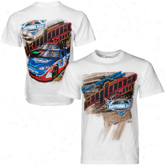 Chase Authentics 2012 Daytona 500 Speed T-shirt - White