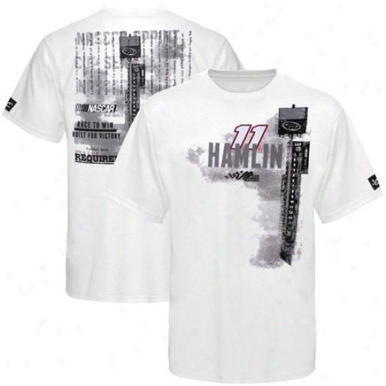 Pursuit Authentics Denny Hamlin Tower T-shirt - White