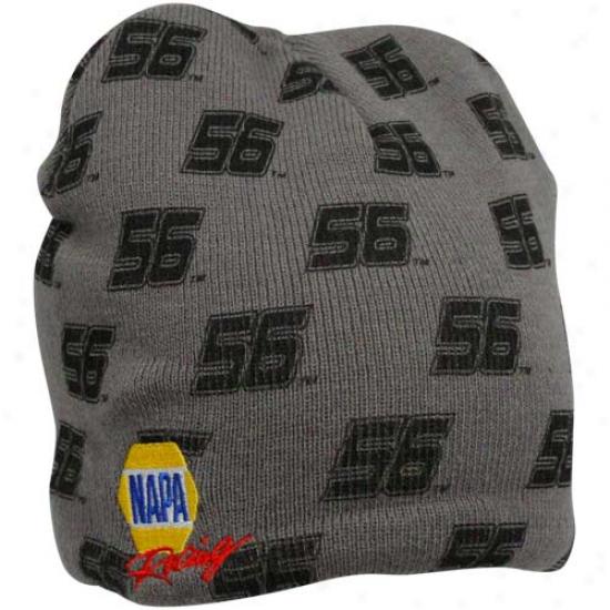 Chase Authentics Martin Truex Jr. Chaecoal Driver Knit Beanie
