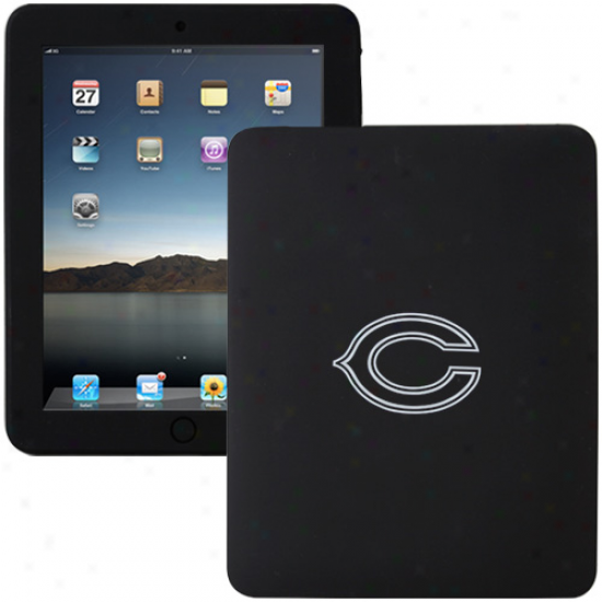 Chicago Bears Black Apple Ipad Silifone Skin