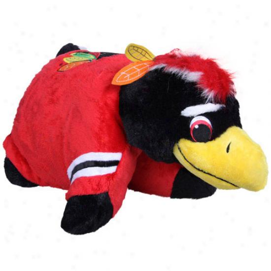 Chivago Blackhawks Mascot Pillow Pet