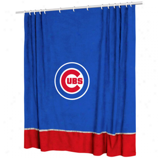 Chicago Cubs 72'' X 72'' Mvp Shower Curtain