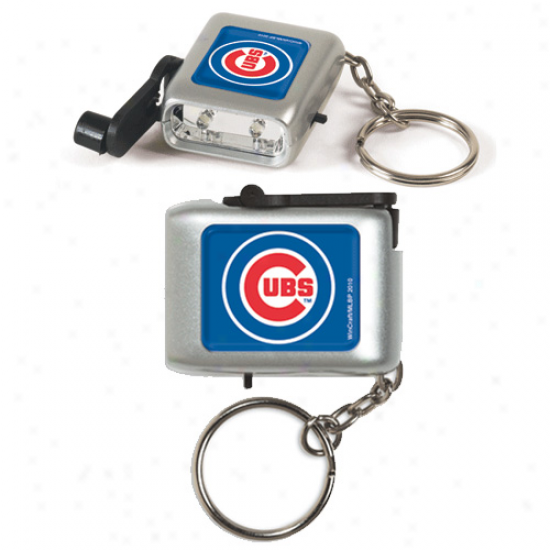 Chicago Cubs Led Eco Light Ksychain