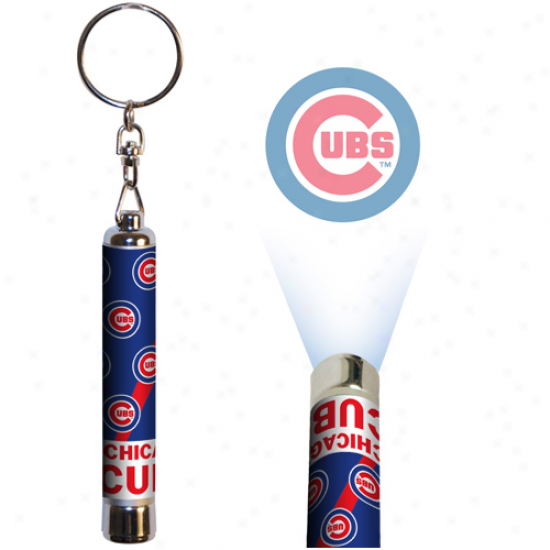 Chicago Cubs Light-up Projection Keychain