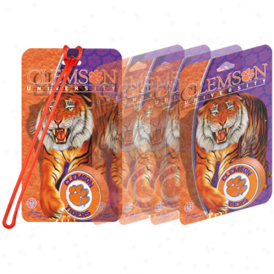 Clemson Tigers 3d Luggage Tag
