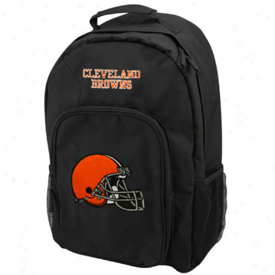 Cleveland Browns Black Southpaw Backkpack
