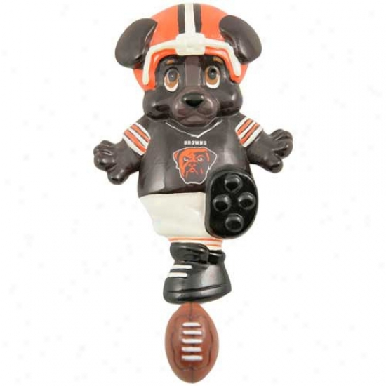 Cleveland Browns Mascot Wall Hook