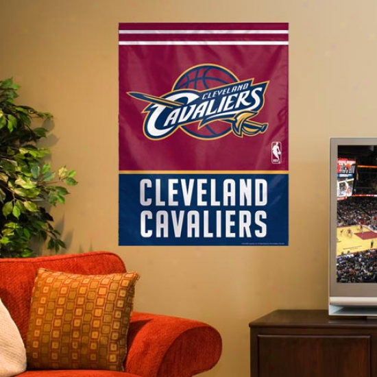 Cleveland Cavaliers 27'' X 37'' Vertical Banner Flag