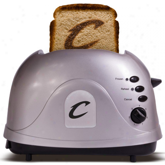 Cleveland Cavaliers Silver Team Logo Pro Toaster