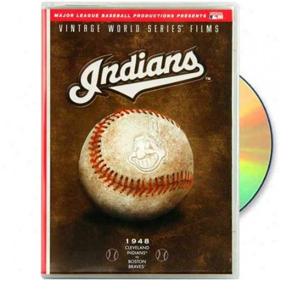 Cleveland Indians 1948 Vintage World Series Films Dvd