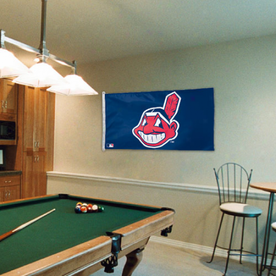 Cleveland Indians 3' X 5' Flag