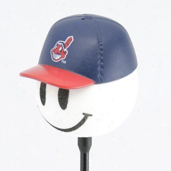 Cleveland Indians Baseball Cap Antenna Topper