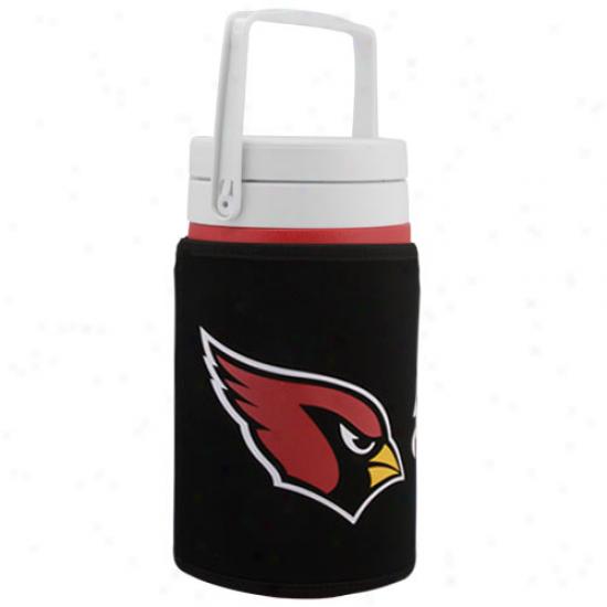 Coleman Arizona Cardinals Half Gallon Jug With Wicked Team Logo Cooler Coolie