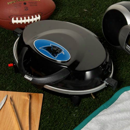 Coleman Carolina Panthers Instastart Tailgate Grill