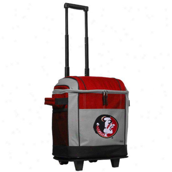 Coleman Florida State Seminoles (fsu) 50-can Rolling Cooler